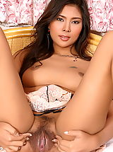 Shaved Vagina, Asian Women nattheera raiwan 01 sexy lingerie