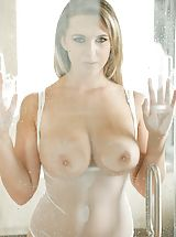 Brooke Wylde Breathtaking Slut exposes her naked boobies, draws down her under garments and spreads her thighs and self pleasures her wet vagina